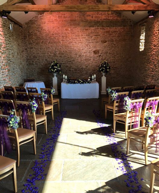Aisle of a wedding