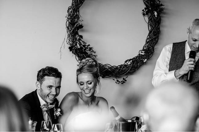 Phil and Hannah Kemp's Rustic Wedding