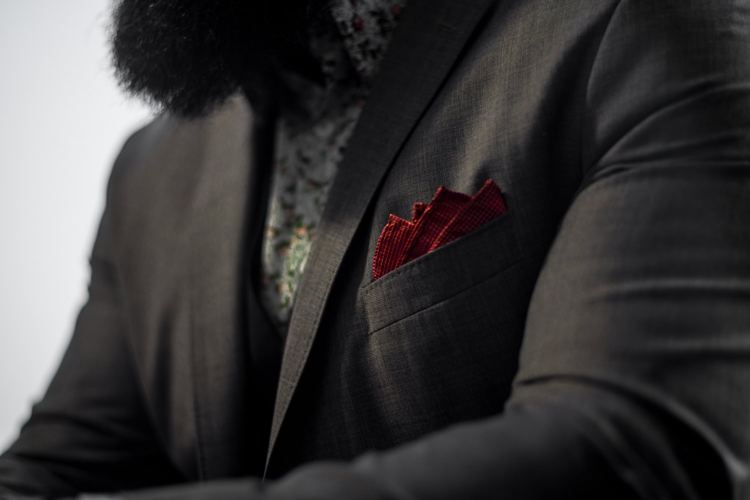 How to Fold a Pocket Square for a Wedding