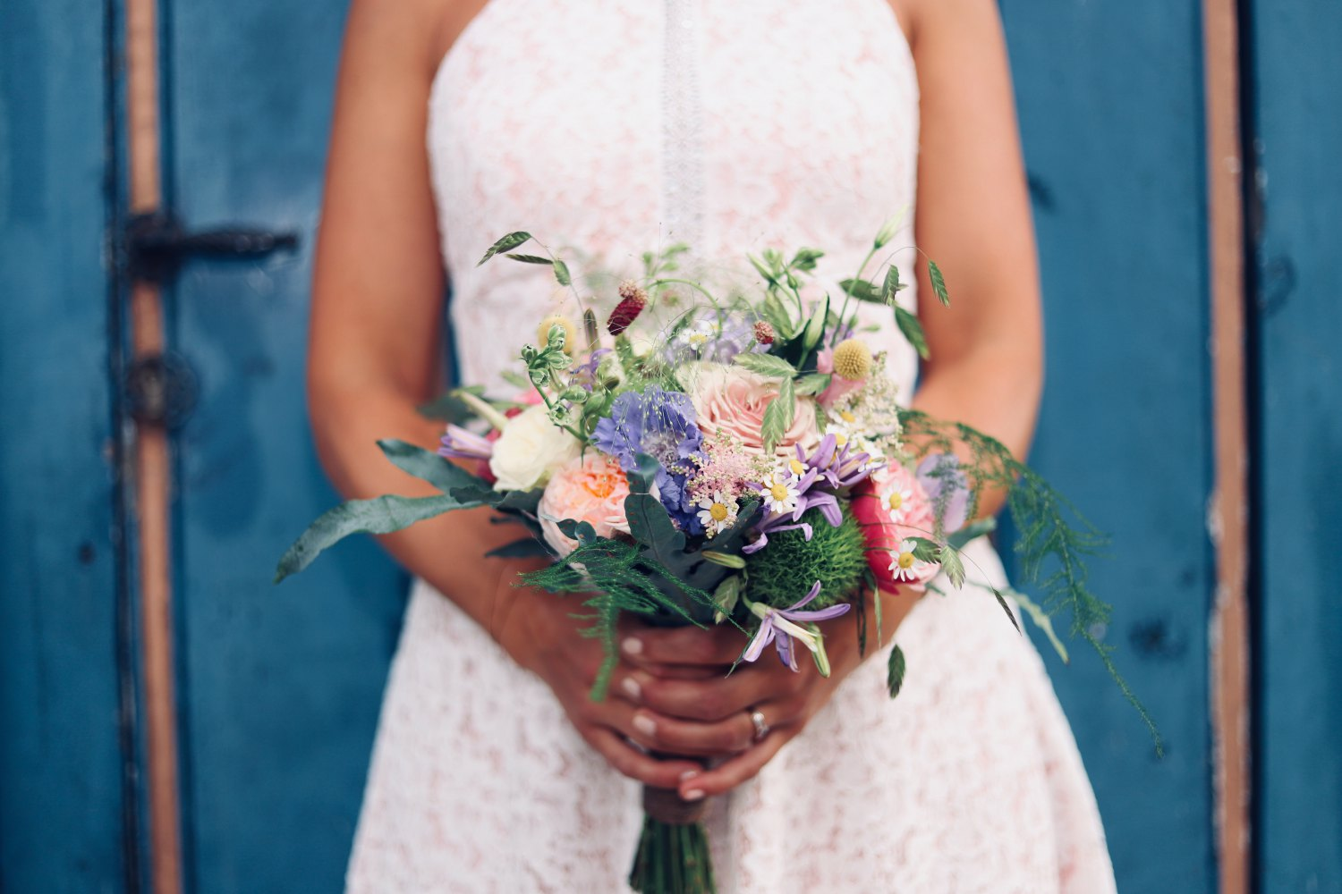Beautiful Spring Bridal Bouquets